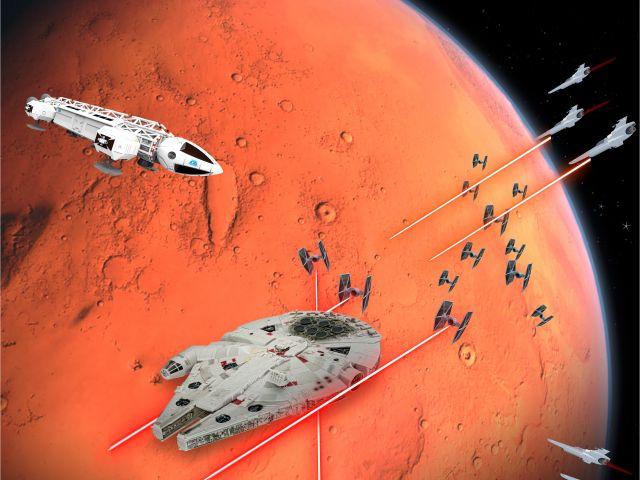 Poster Space War   Espaço