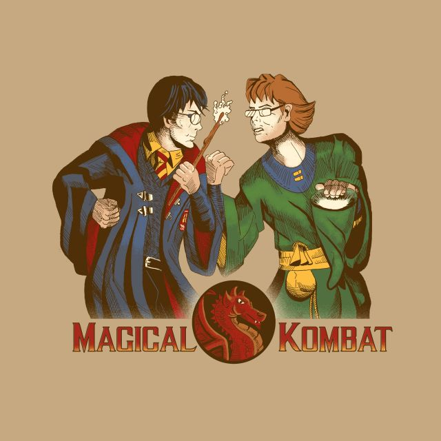 Poster magical kombat