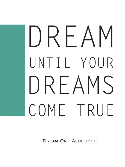 Poster Sing Aerosmith 2