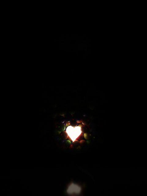 Poster Amor Guardado   Coração