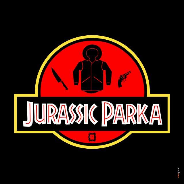 Poster Jurassic Parka - Friends