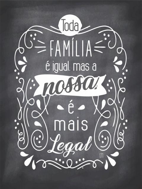 Poster Família