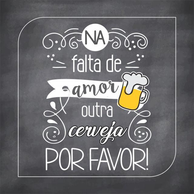 Poster Cervejinha