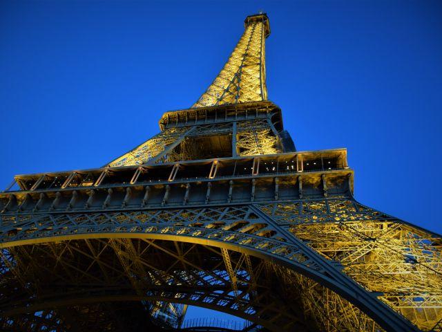 Poster Torre Eiffel Paris Noite   França