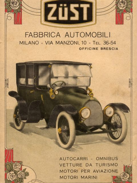 Poster Zust Automobile