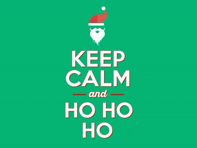 Poster Keep Calm and HoHoHo