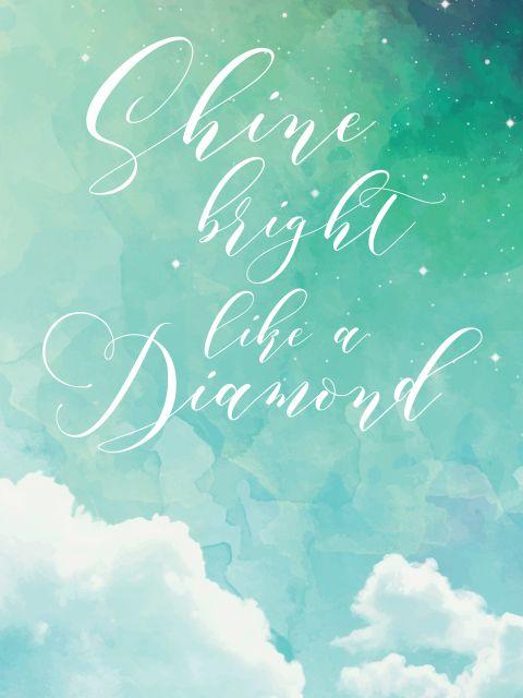 Poster Shine
