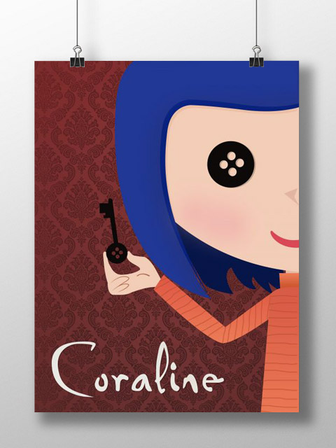Poster Coraline