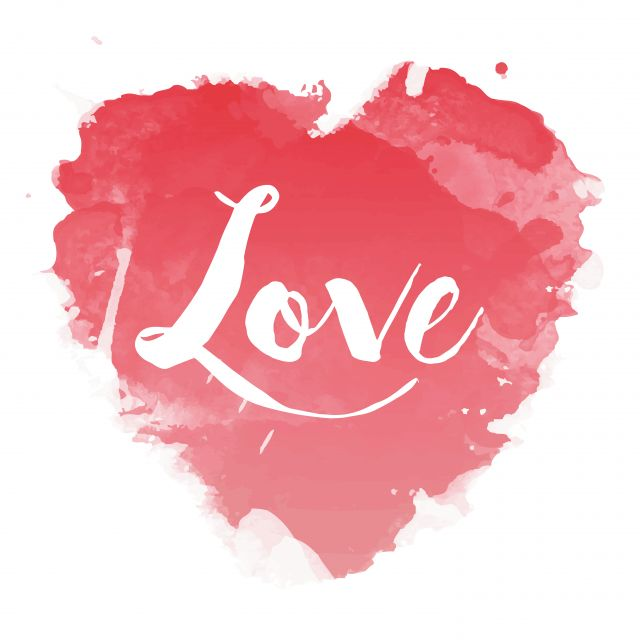 Poster Pink Love