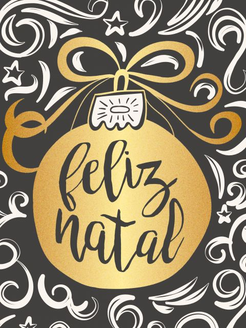 Poster Natal Dourado