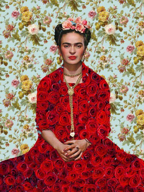 Poster Frida Kahlo Ilustração III