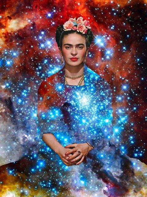 Poster Frida Kahlo Ilustração