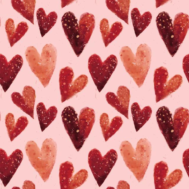 Poster Conjunto de Corações