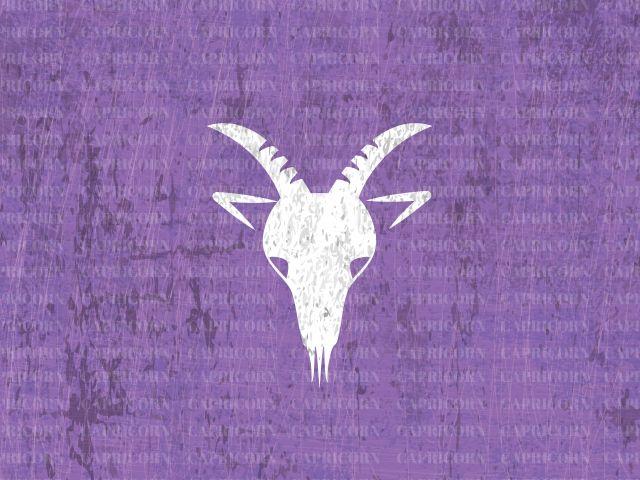Poster Capricórnio