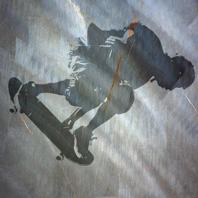 Poster Skater II