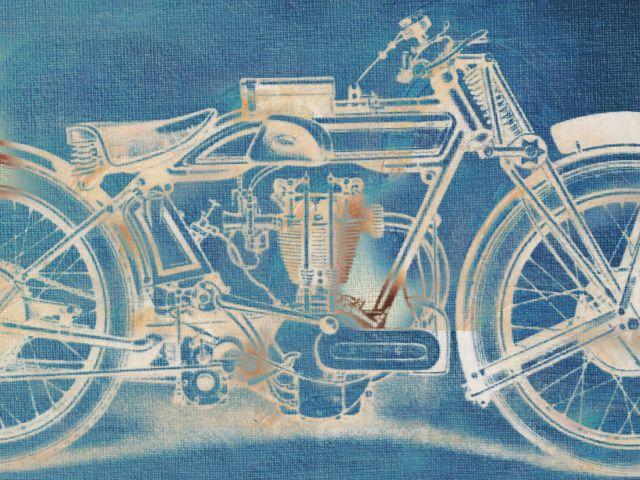 Poster Ghost Motorbike