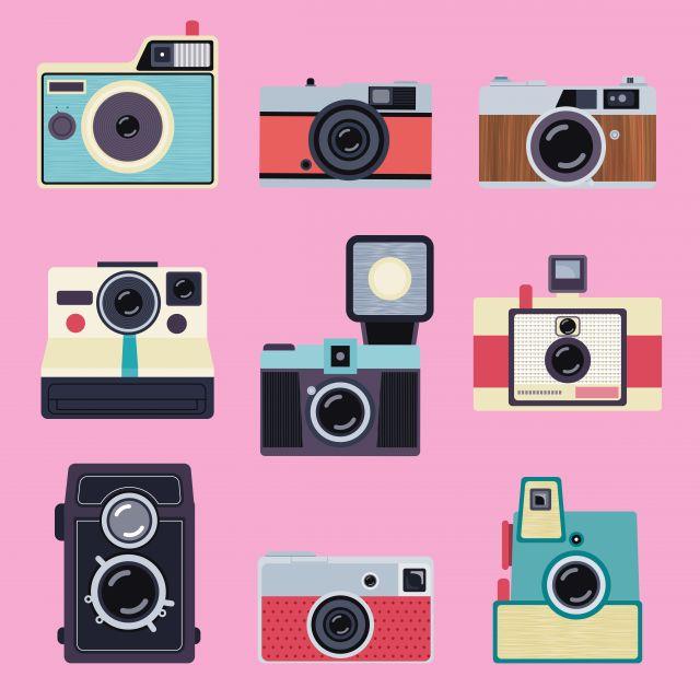 Poster Maquinas Fotográficas II