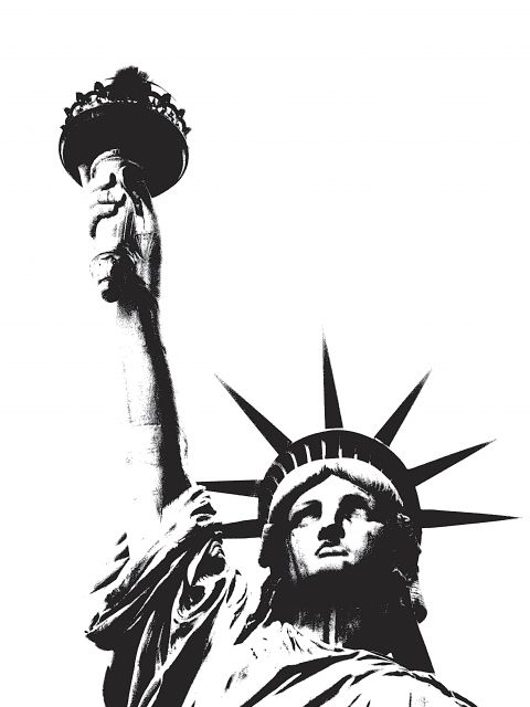 Poster Statue of Liberty