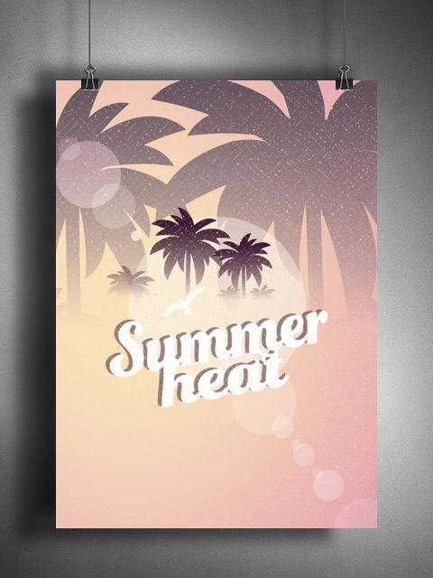 Poster Summer Heat