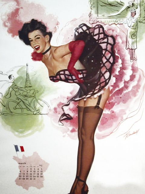 Poster French Girl