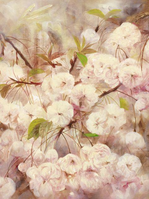 Poster Rosas Brancas