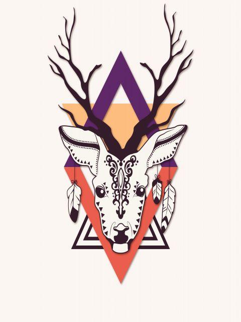 Poster Rena Tribal