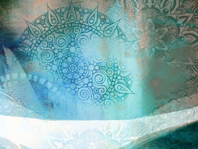 Poster Inverno Azul