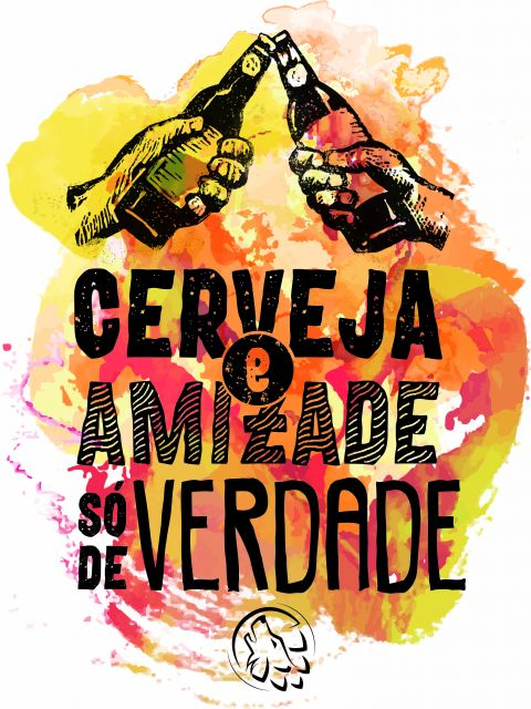 Poster Cerveja e Amizade