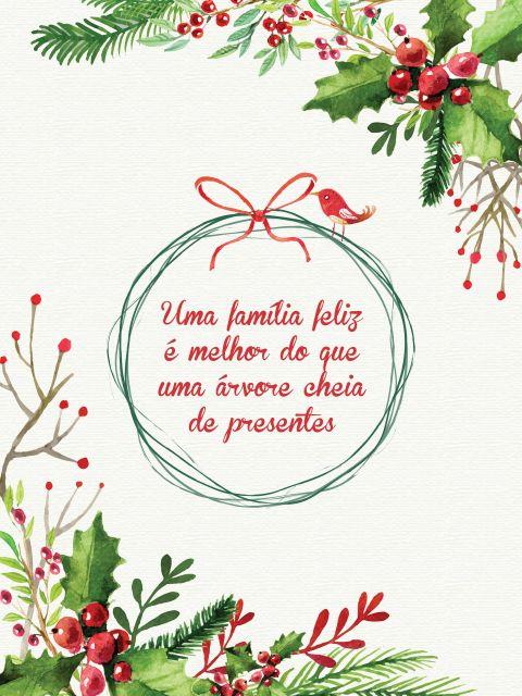 Poster Natal em Família