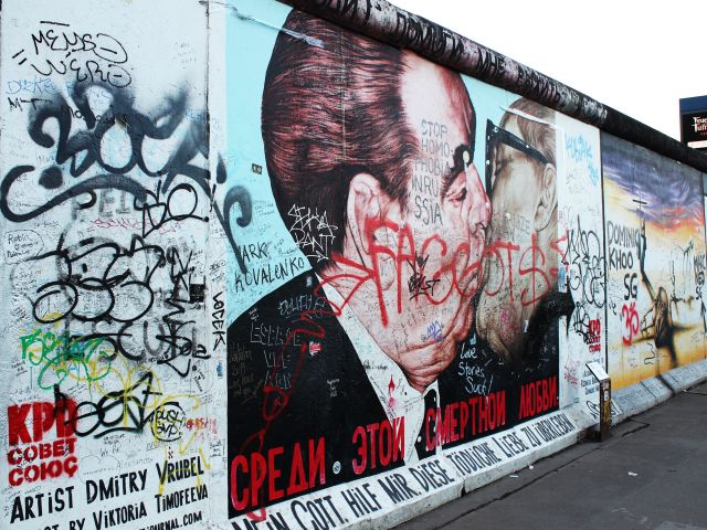 Poster Muro de Berlim