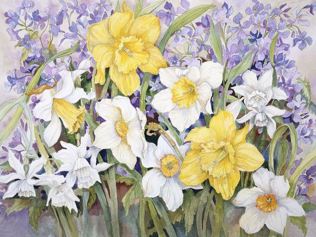 Poster Flores da Primavera