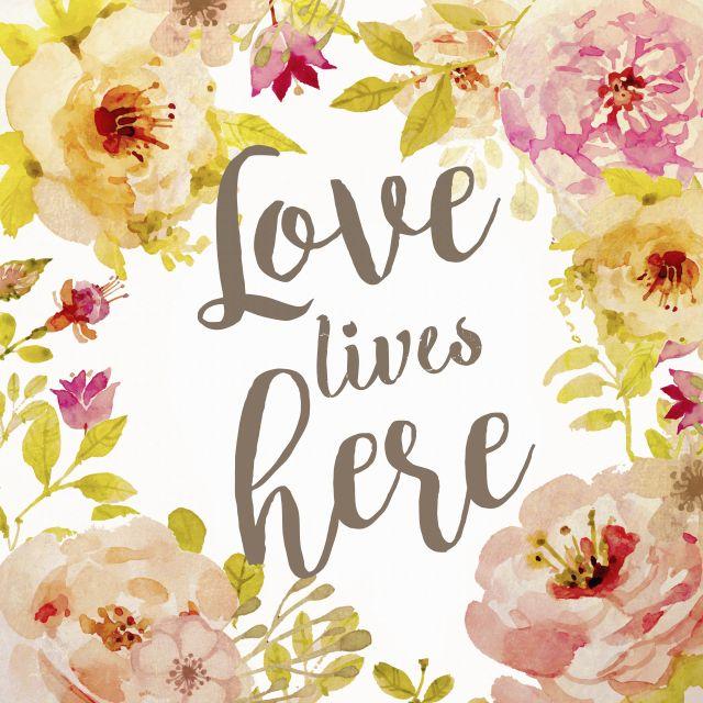 Poster Love Lives