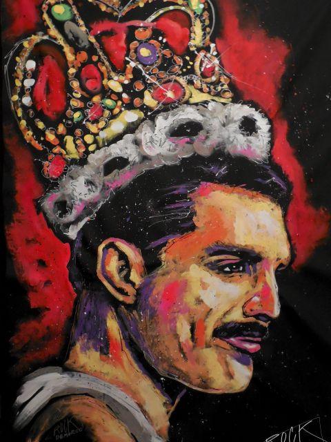 Poster Freddie Mercury Painting 002