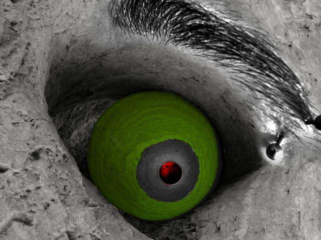 Poster De olho
