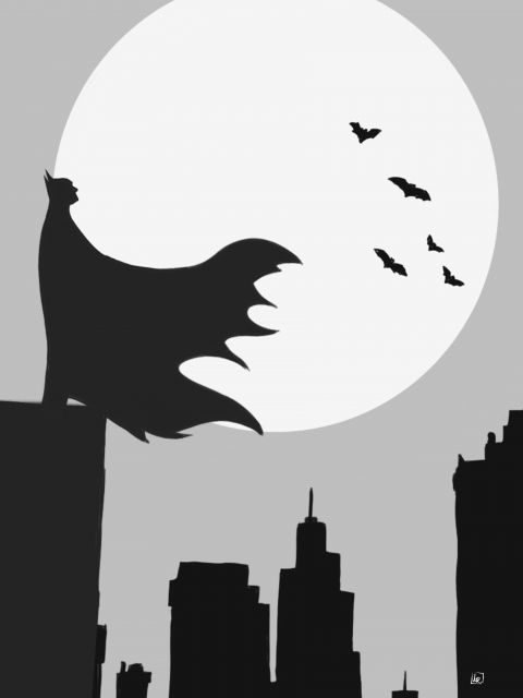 Poster Bat of Gotham