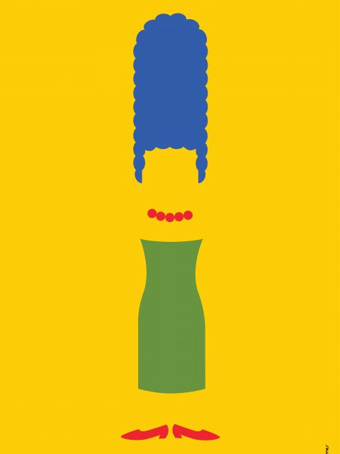 Poster Marge Simpson