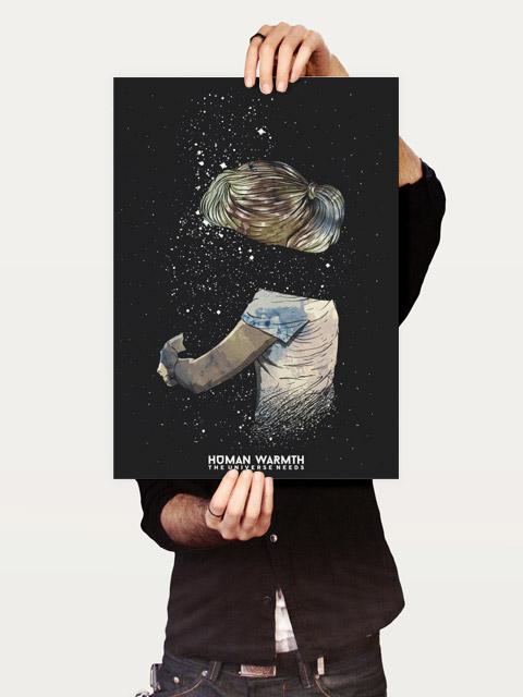 Poster Human Warmth