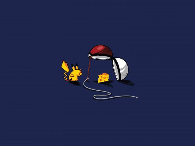 Poster Como capturar seu Pikachu