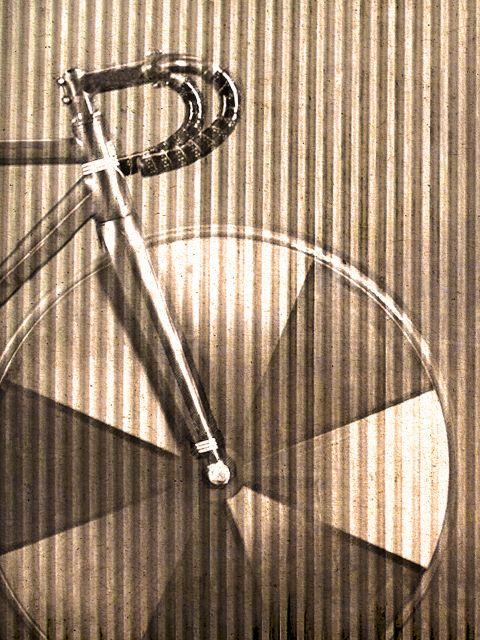 Poster Crimped Bike   bicicleta