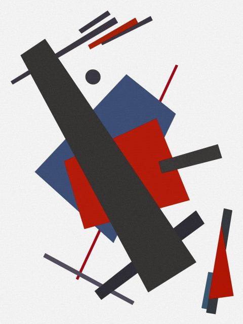 Poster Abstrato e Geométrico I