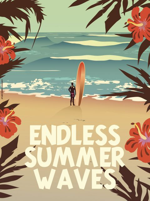 Poster Endless Summer Waves