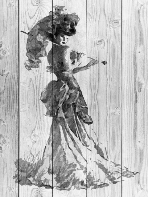 Poster Senhora na Madeira