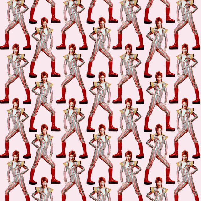 Poster David Bowie Coreografia