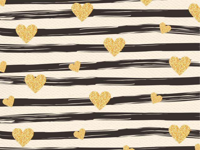 Poster Corações e Listras  corações coração amor listras