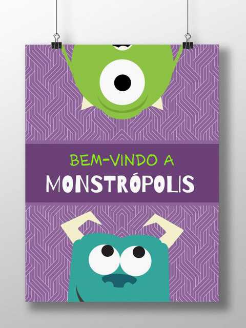 Poster Monstruoso