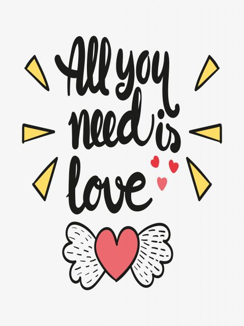 Poster All Your Need Is Love   love amor