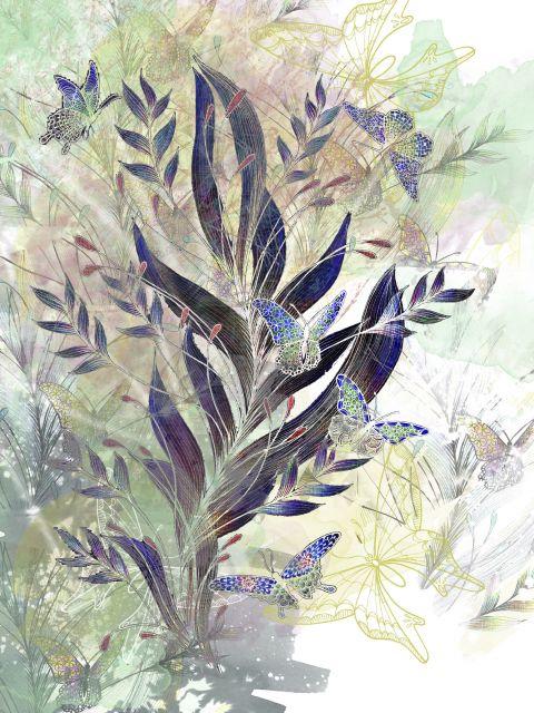 Poster Flutter of Butterflies