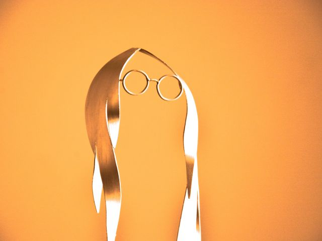 Poster John Lennon Orange