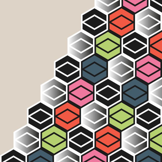 Poster HexagonWall