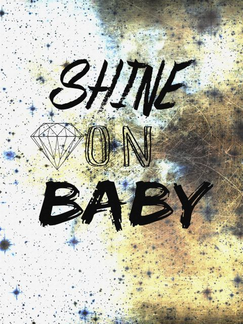 Poster Shine On Baby
